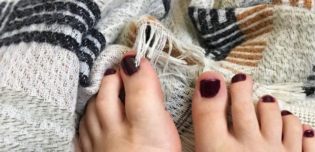 Autumnal nail polish