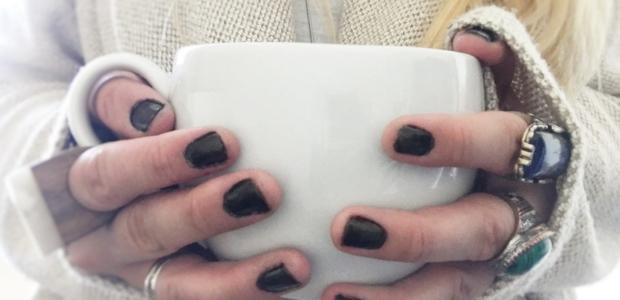 Cosy hot drink mug