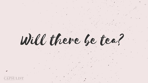 Preview Of Will There Be Tea? -Free Desktop Wallpaper Download- The Capsulist