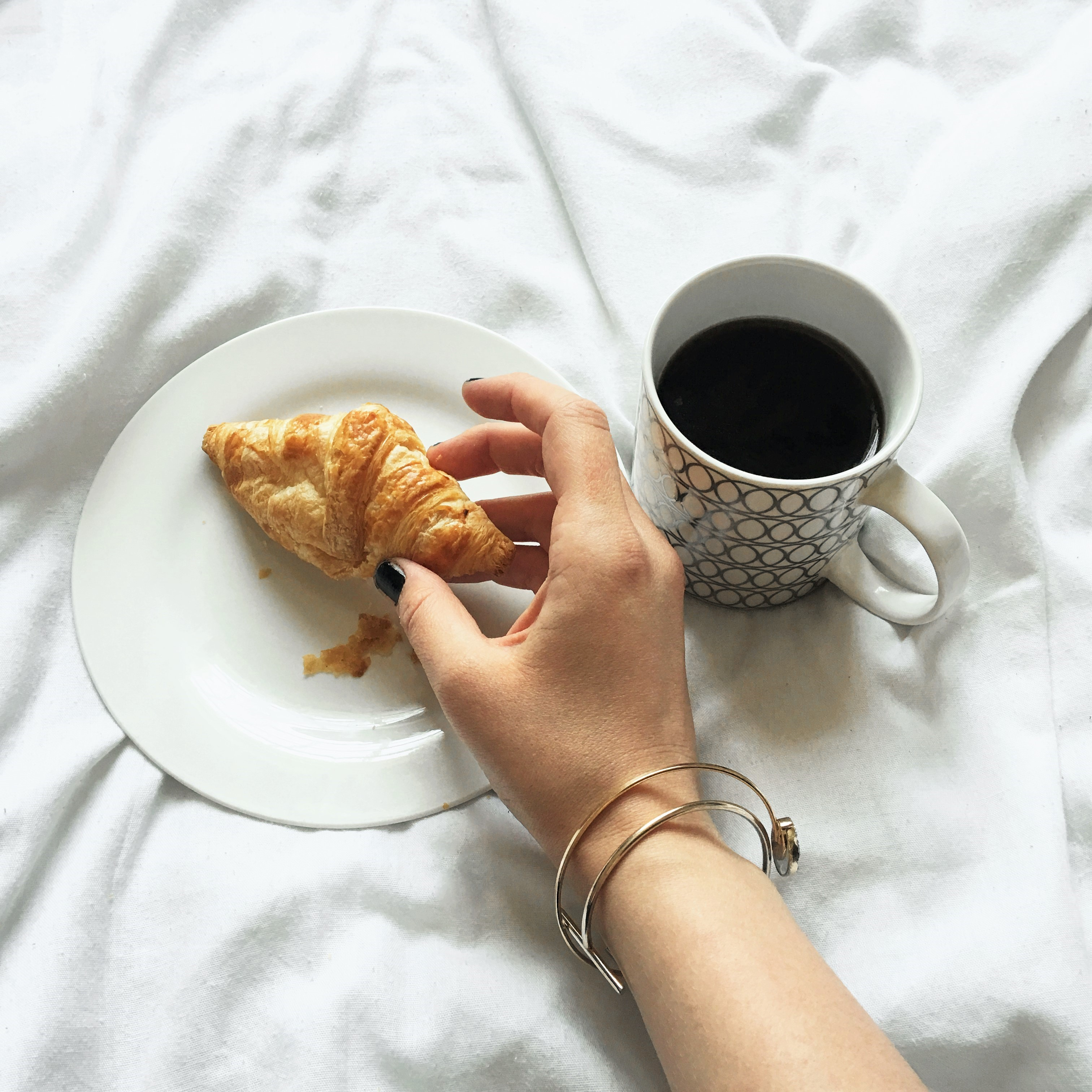 Coffee & Croissant- The Capsulist Blog- Lucy Barnes