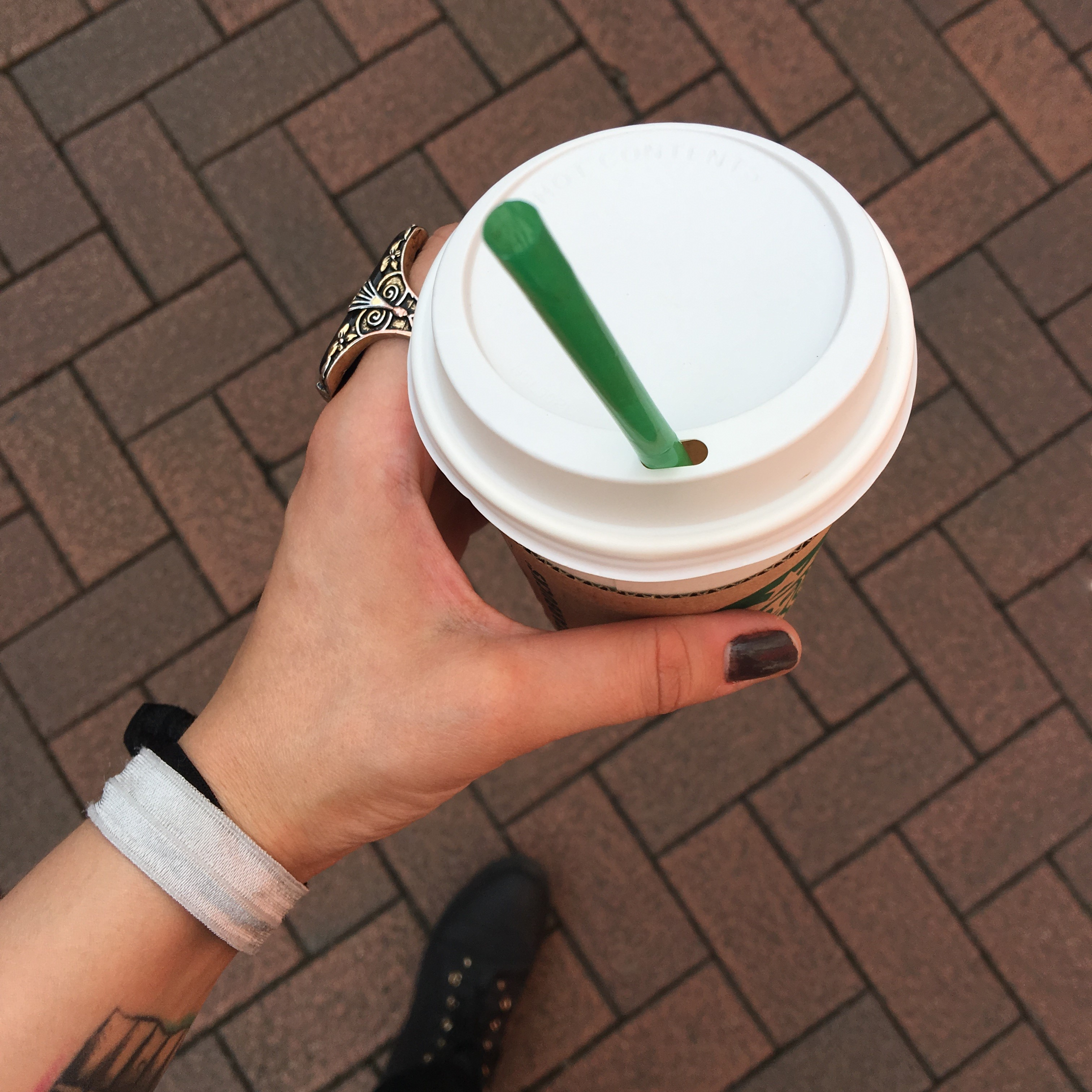 Starbucks Cup- The Capsulist Blog- Lucy Barnes