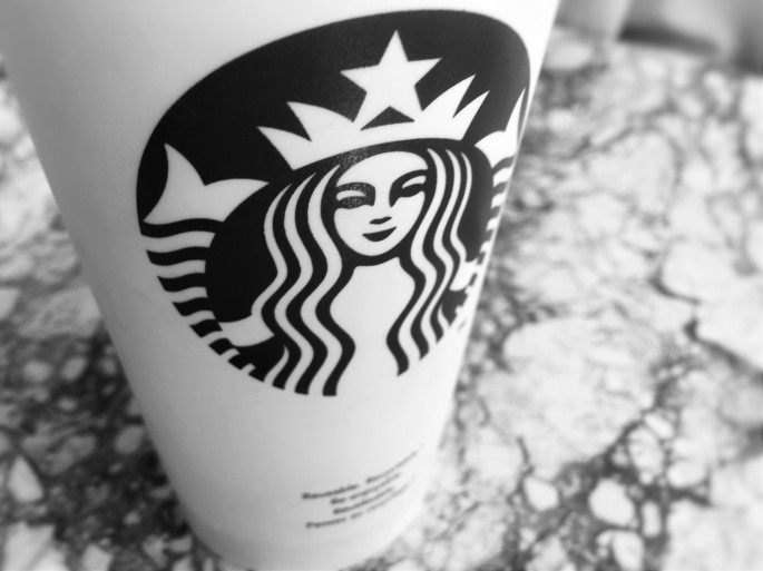 Starbucks Coffee Cup- Black And White- The Capsulist Blog